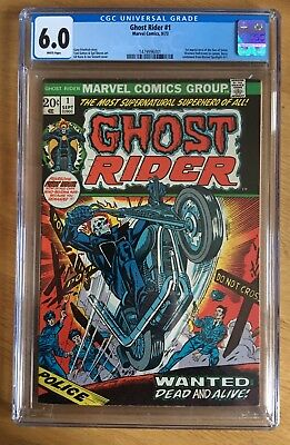 Ghost Rider #1 Cgc 6.0 Cents Copy