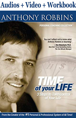 [Digital Email Delivery ] Anthony Robbins - Time of Your Life ( No CD )