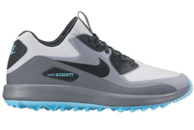 6fa0e45a516d6 Nike Air Zoom 90 IT Golf Shoes Waterproof Grey Blue 844569-004  175 Mens 8