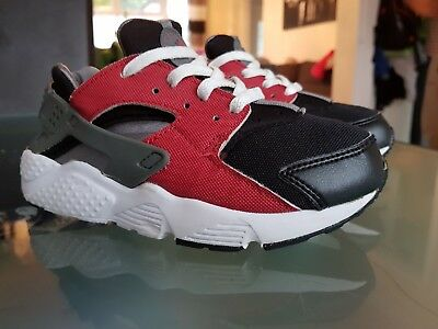 bf503cd881f83 BABY BOY NIKE huarache Trainers Sz 7.5 In Blue Vgc Must See Ute ...