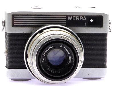 Kamera WERRA 1 mit  Optik Carl Zeiss Jena T 1:2.8 / 50mm (FF08021)