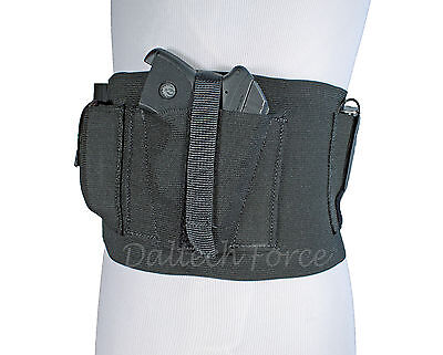 "USA 6"" Tactical Belly Band Elastic Holster For CCW Concealed Carry"