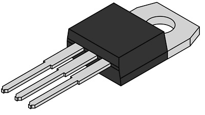 LM35DT Temp Sensor Analog(Voltage) Serial (2-Wire) TO-220