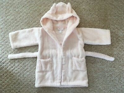 Little White Company Robe 6-12 Months