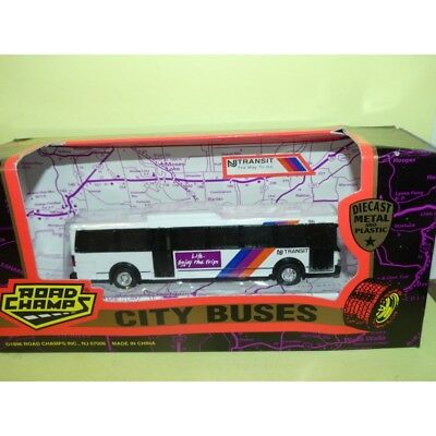 Road Champs Nj Transit New Jersey Toy Bus Diecast Flxible Grumman