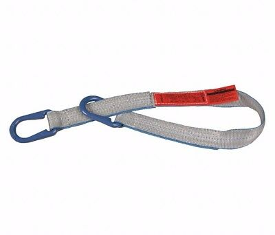 "Liftall Lift All UU2804TX4 Tuff-Edge Web Sling, Type UU, 2-ply 4"" x 4' 11,500 lb"
