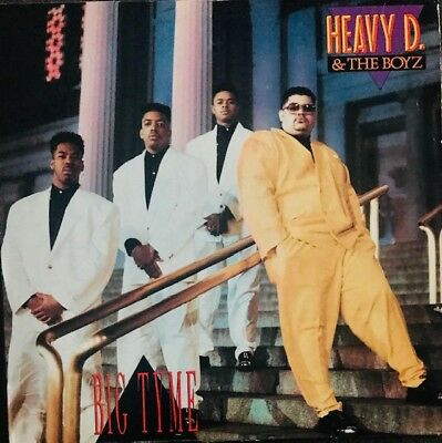 Heavy D. & The Boyz - Big Tyme - Lp Vinyl Album - Us Org '89