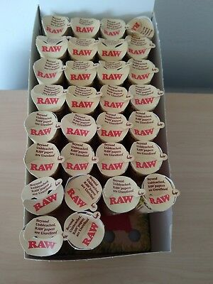 RAW Organic King Size Authentic Pre-Rolled Cones  69 count  with Filter