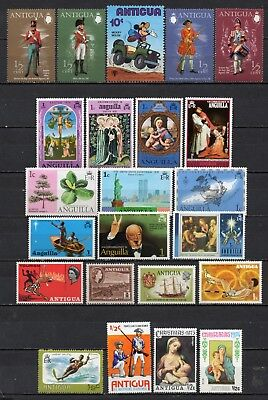 Antigua very nice mixed era collection ,stamps as per scan(5399)
