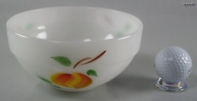 "Vintage 1940s 60s Fire King 6"" Colonial Gay Fad Fruit Mixing Bowl  Kitchenware"