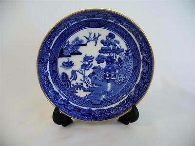 Minton - Blue & White Willow Pattern Pin Dish/Saucer - c 1900 +