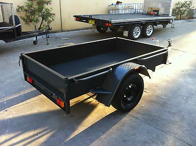 Box Trailer  LED 7X4FT H duty ALSO 7x5 8x4 8x5 9x5 10x5 AVAILABLE
