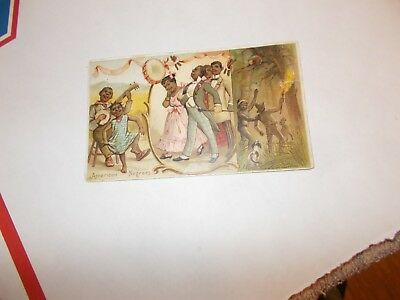 Antique   1892    American   Negroes-   Arbuckle   Bros.     Card