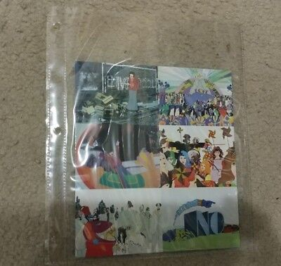 RARE The Beatles Yellow Submarine collector trading cards:uncut sheet - 6 cards!