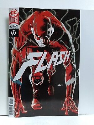 Flash #56 foil cover (DC Comics 2018)