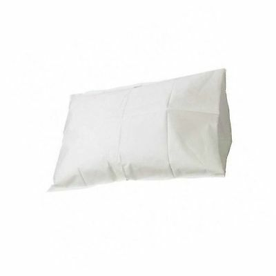 Tidi Tissue Poly Paper Pillow Case, White, 100 Count 21 x 30 inches