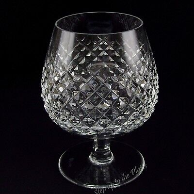 "Waterford Crystal Mint ALANA Brandy Snifter Glass 5 1/8"" 12 Oz Made in Ireland"