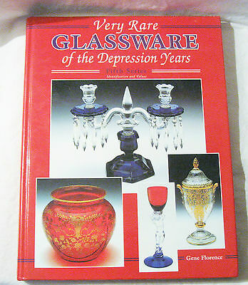 Very Rare Glassware of the Depression Years : Identification and Value Guide...