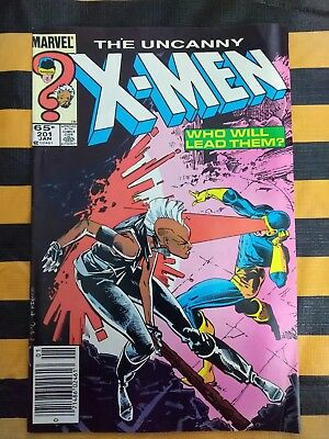 The Uncanny X-Men #201 (Jan 1986, Marvel)1st app baby Nathan (Cable)