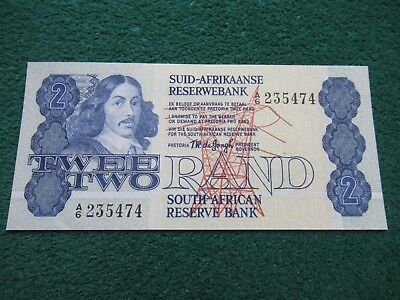 High grade , SOUTH AFRICA , Two Rand Bank note.