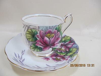 Royal Albert Bone China October Flower of the month #7 Water Lilly