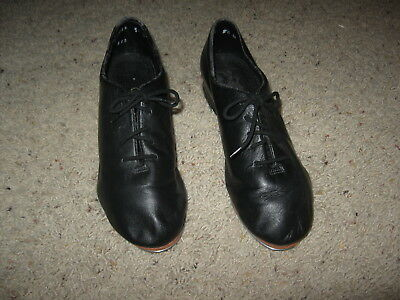 Giordano by Leo's Kids Tap Dance Shoes - Black 5 1/2 M