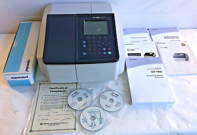 Shimadzu UV-1800 Double Beam Visible Scan Spectrophotometer  Software & Warranty