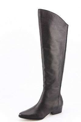 39dc189a9aa  280 NEW Dolce Vita Meris Black Leather Over-The-Knee Boots sz 6.5 Tall