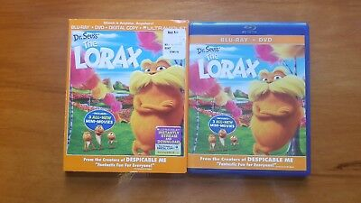 Dr. Seuss The Lorax Blu-ray/DVD, 2012, 2-Disc Set with Slipcover *NO DIGITAL*