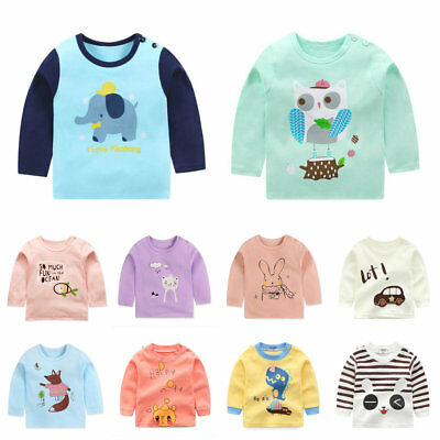 Toddler Kids baby girls clothing tops T shirt girls base shirt  bottoming shirt