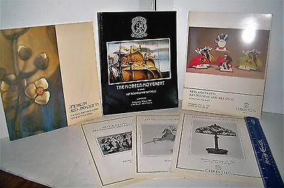 LP17 (O6) Vintage 80's Sotheby's Christies Catalog Art Nouveau Art Deco #14