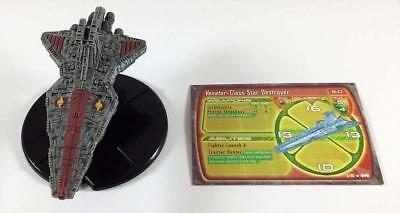 WOTC Star Wars Minis Starship Battles Venator-Class Star Destroyer MINT