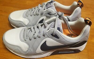MENS NIKE AIR Max Trax 620990 110 WhiteObsdnWolf Gray