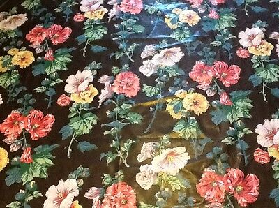 """Clearance -G.P.& J BAKER, """"Rose Tremiere"""", Decorator Fabric, PRINTED CHINTZ R278"""