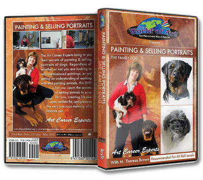 "Art Career Experts ""Painting and Selling Portraits: The Family Dog"" DVD"