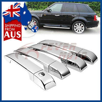 AU Chrome Side Door Handle Cover Trim For Land Rover Range Rover HSE 2002-09 FM