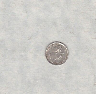 1834 William Iv Maundy Penny In Mint Condition