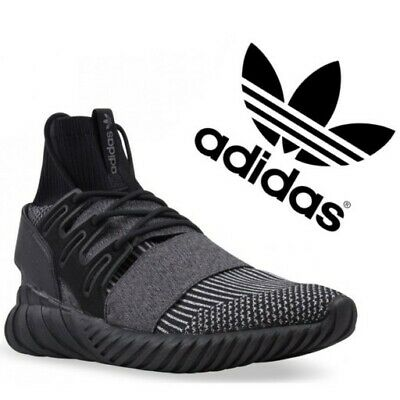 ✅ 24HR DELIVERY✅ ADIDAS TUBULAR DOOM BLACK MENS CROSS TRAINERS rrp £90