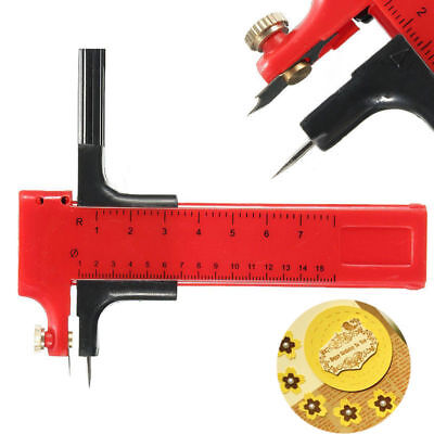 Plastic Compasses Circle Cutter Tool For Paper Vinyl Rubber Leather 10mm-150mm