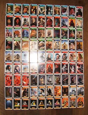 Collection Complete 90 Cartes Star Wars Leclerc