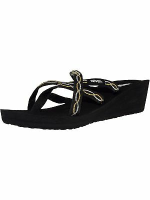 12c73fd69741 Teva Women s Mush Mandalyn Wedge Ola 2 Ankle-High Polyester Sandal