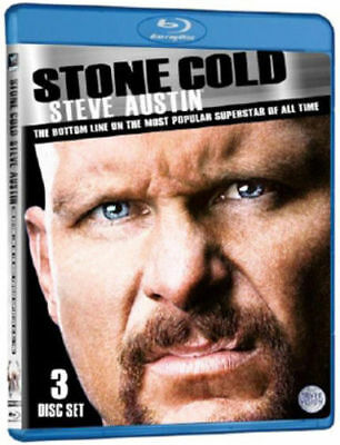 WWE - Stone Cold Steve Austin (Blu-ray, 2011, 3-Disc Set) Region B