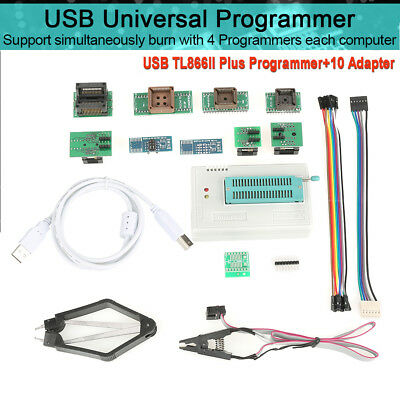 Durable PCB USB Programmer for TL866II Plus EEPROM FLASH 8051 AVR Quality UK
