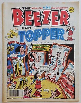 BEEZER & TOPPER Comic #37 - 1 June 1991