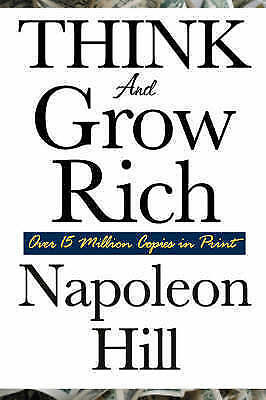 NEW Think and Grow Rich by Napoleon Hill Paperback (Free Shipping)