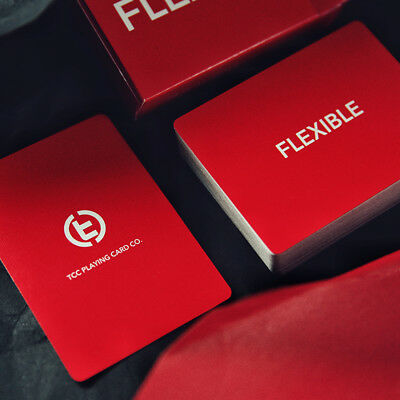Mazzo di carte Flexible Playing Cards - Red - Carte da gioco