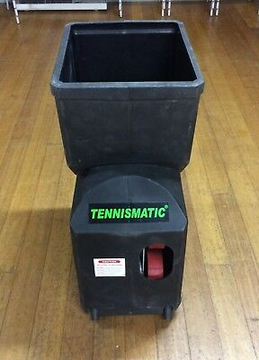 Tennismatic Tennis Ball Machine (In Great Condition, Run on AC main) - Can Post