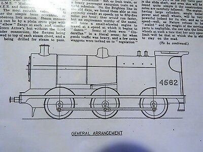 LIVE STEAM LOCOMOTIVE 2 1/2'' Gauge 4F Drawings and construction notes