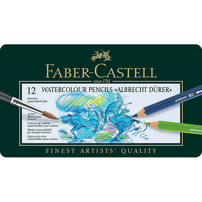 Faber-Castell - Tin of 12 Albrecht Durer Artists' Watercolour Pencils