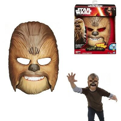 New Star Wars The Force Awakens Chewbacca Mask Electronic Voice A86R Gifts Fun